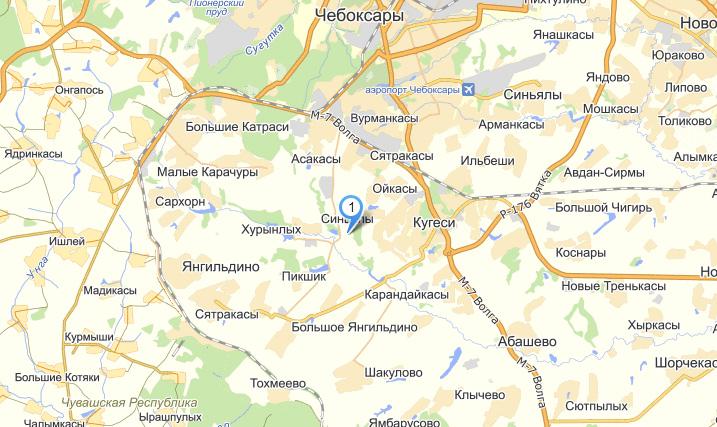Лесной двор на Яндекс.Картах